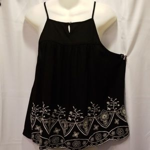 Chloe & Katie baby doll blouse Size M